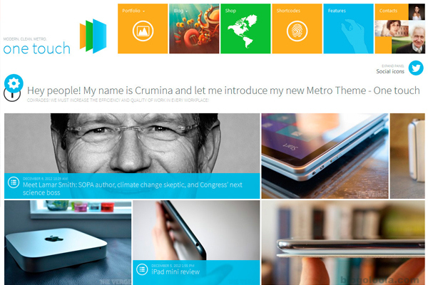 OneTouch-Multifunctional-Metro-Stylish-Theme