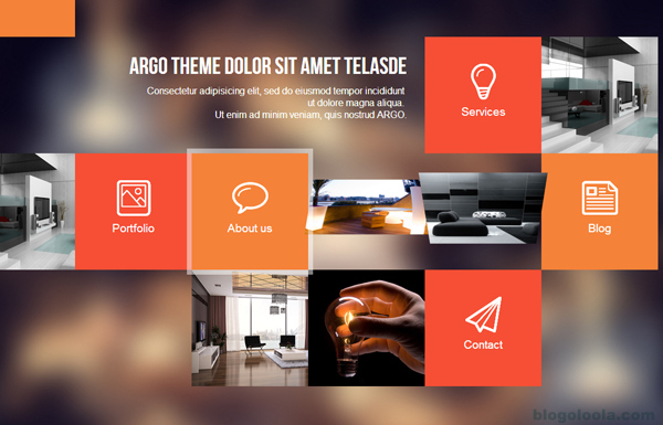argo-modern-one-page-metro-ui-styled-wordpress-theme