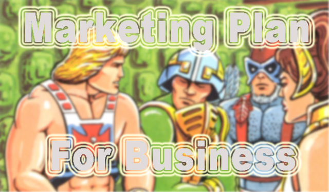 marketing plan model for business