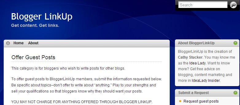 BLU guest blogging sites