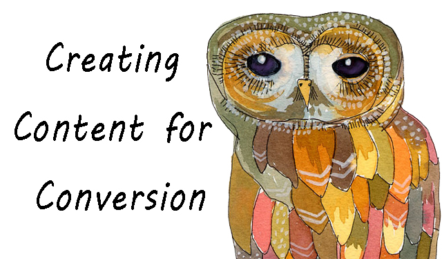 creating content for conversion
