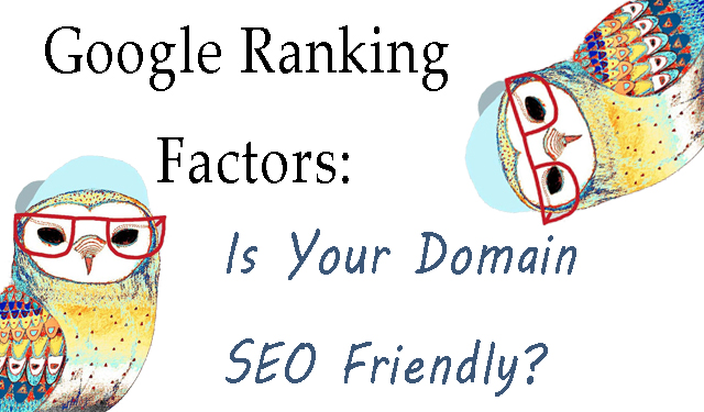 google ranking factors domain seo