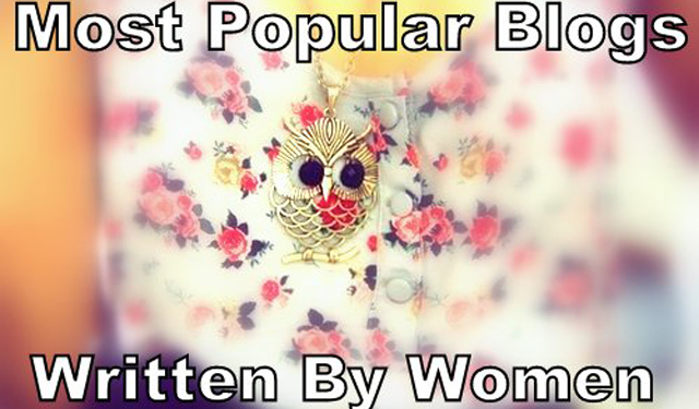 most popular personal blogs women