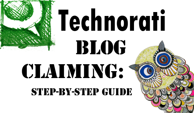 technorati blog claiming