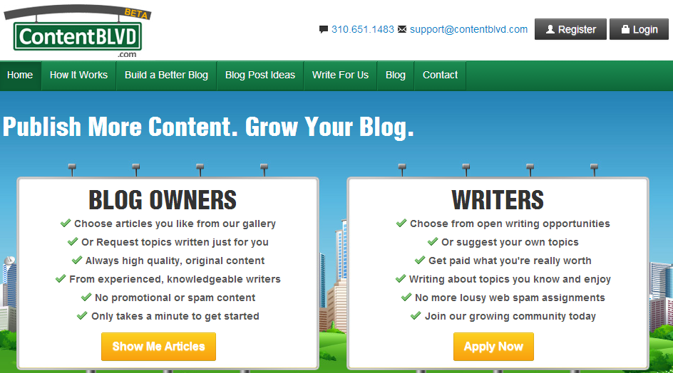 Blogging Sites to Make Money CBLVD